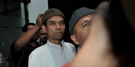 Ustaz Abdul Somad di MUI. ©2019 Merdeka.com/Iqbal S Nugroho