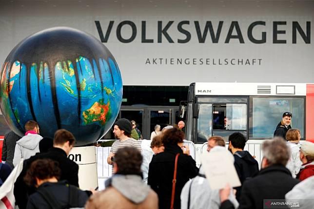 Serikat pekerja Volkswagen ajukan petisi pemungutan suara