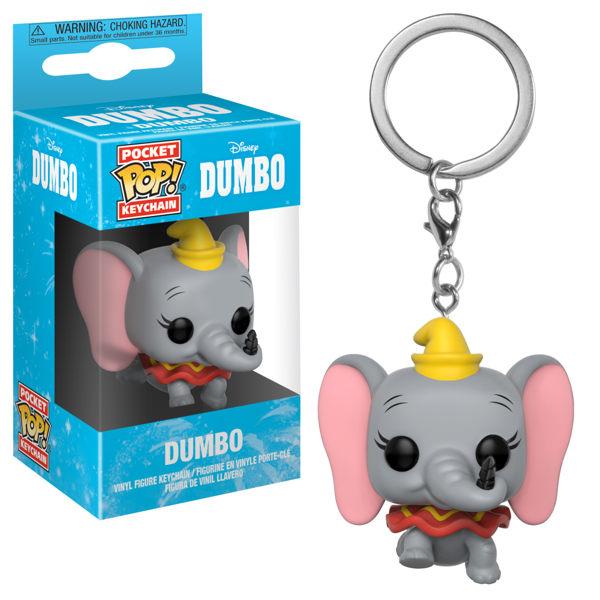 【 Funko 】 POP! 鑰匙圈 迪士尼 小飛象╭★ JOYBUS玩具百貨