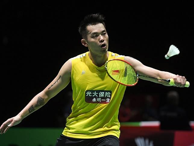 林丹苦戰三局落敗,是他自2003年首次參加世錦賽以來,在12屆比賽中最早出局的一次。(新華社)