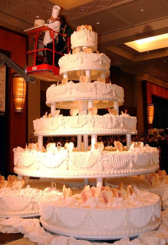 Фото лучших свадебных тортов мира