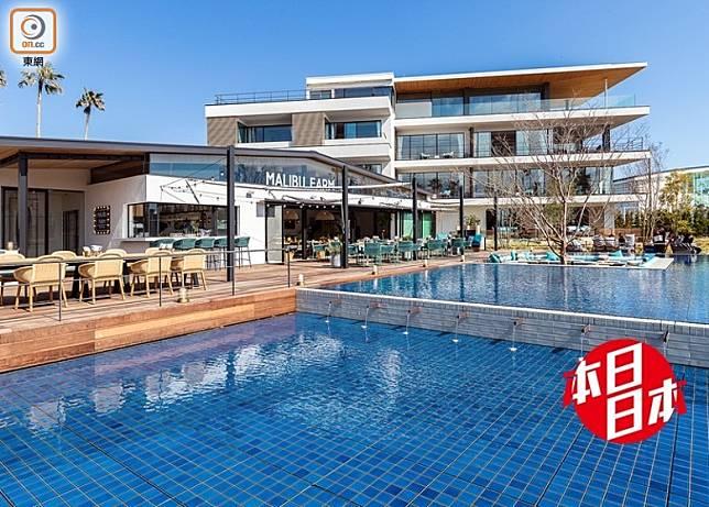 神奈川縣逗子市嘅綜合度假設施Riviera逗子Marina,剛剛有全新豪華酒店MALIBU HOTEL及首次登陸日本嘅MALIBU FARM餐廳開業。(互聯網)
