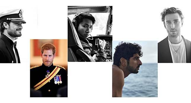 ใจละลายกับ 5 เจ้าชายรูปงามตัวจริงจากทั่วโลก