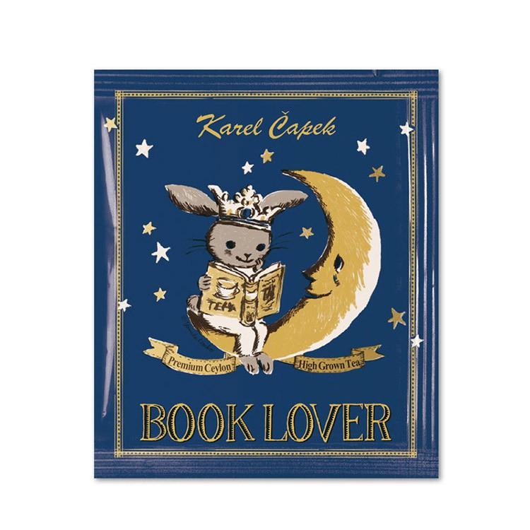日本KarelCapek山田詩子紅茶店小包裝-30週年紀念款 Book Lover 茶5入組 【現貨】