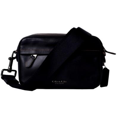 COACH GRAHAM 經典緹花新款相機包/斜背包-時尚黑
