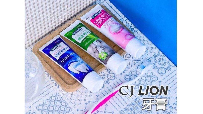 【韓國】 CJ LION 牙膏