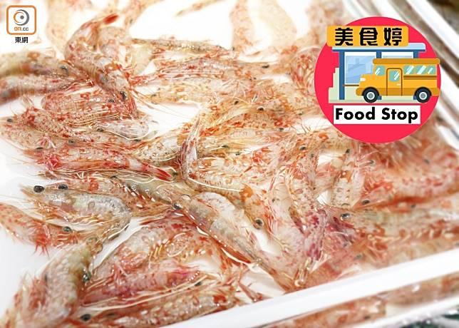 赤米是本地最常見的野生海蝦之一,蝦如其名蝦殼呈赤紅色,體型細小,可連殼食用,口感香脆又帶有鹹鮮香氣。(蔡浩文攝)