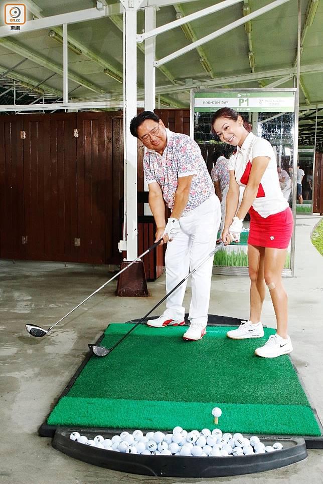 兩父女有一段Golf情緣!