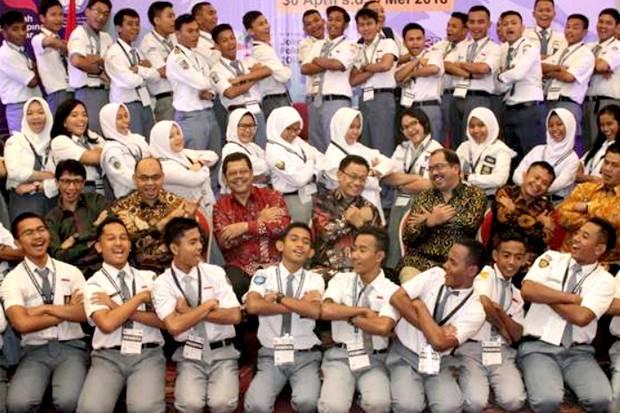 Pertama Di Indonesia Pemilihan Ketua Osis Serentak Pakai