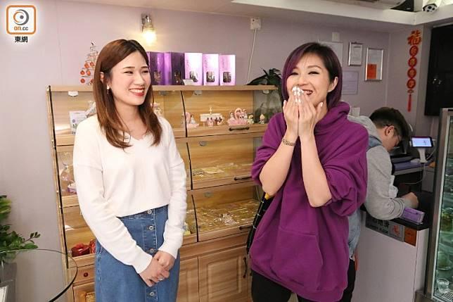 教粉絲Yumi愛情保鮮法。