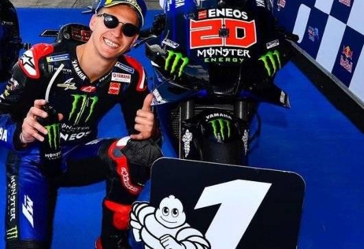 Puasnya Quartararo Bisa Rebut Pole Position di MotoGP Spanyol 2021