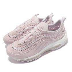 Nike 休閒鞋 Air Max 97 LX 運動 女鞋 氣墊 避震 編織造型 球鞋穿搭 粉紫 白 DC4144-500 [ACS 跨運動]