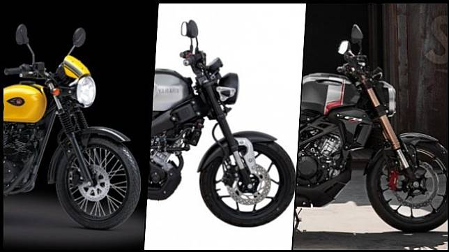 Adu rupa dan tenaga motor sport retro Jepang 150-an cc. (Kawasaki Indonesia, Yamaha Thailand, Honda Thailand)