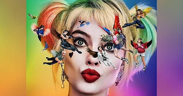 小丑女回來了💋DC新作《猛禽小隊:小丑女大解放》首張電影海報公開