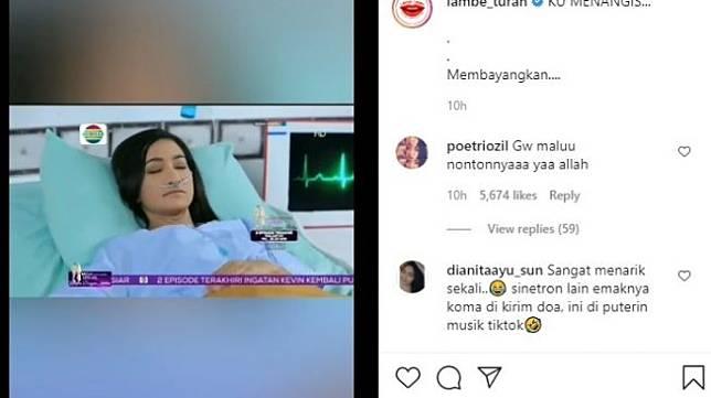 Cuplikan adegan sinetron yang viral [Instagram/@lambe_turah]