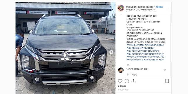Instagram @mitsubishi_sumut_xpander_pjero