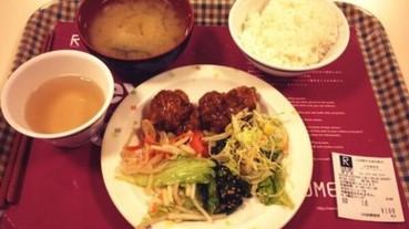 日本大學百元早餐長這樣 再回頭看看今天的中午菜單...