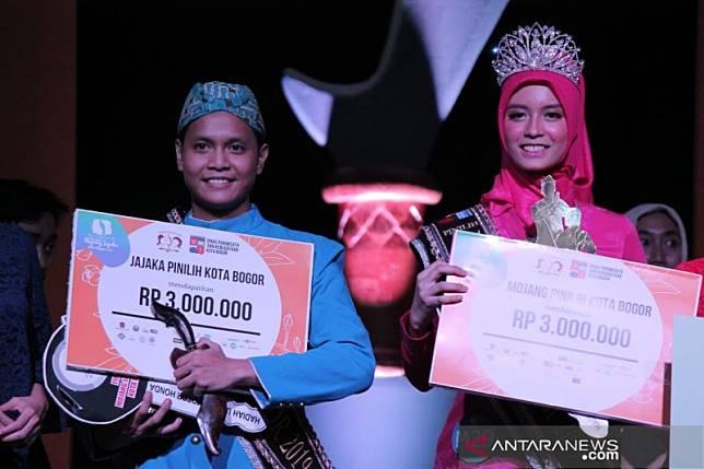 Hassan dan Rizka pemenang Mojang Jajaka Kota Bogor 2019