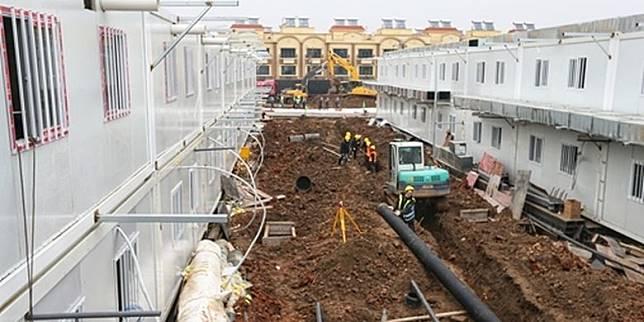 Beroperasi Senin Besok, Konstruksi Rumah Sakit Corona Tuntas 8 Hari
