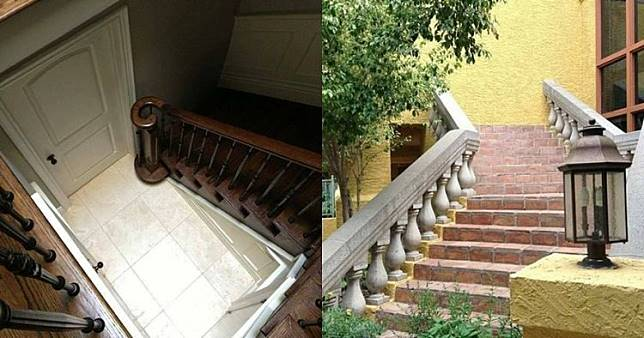 10 Desain tangga ini bikin gagal paham, faedahnya apa?