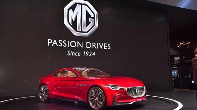 Morris Garages atau MG dengan MG E-Motion Concept Car saat tampil di Thailand International Motor Expo 2018. Sebagai ilustrasi [Shutterstock].
