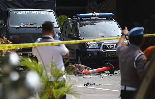 Diduga ada peran guru ngaji pada aksi teror bom di Polrestabes Medan