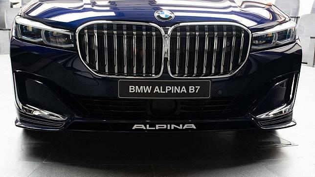 外冷內熱 配色活潑的2020 Alpina B7