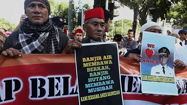 FPI Bela Anies soal Banjir: Anies Adalah Simbol Perjuangan Umat Islam