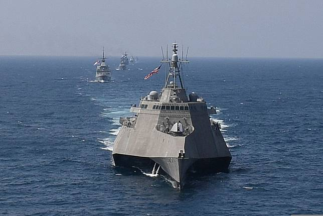 US Navy sends littoral combat ships to 'bolster attack strength in South China Sea'