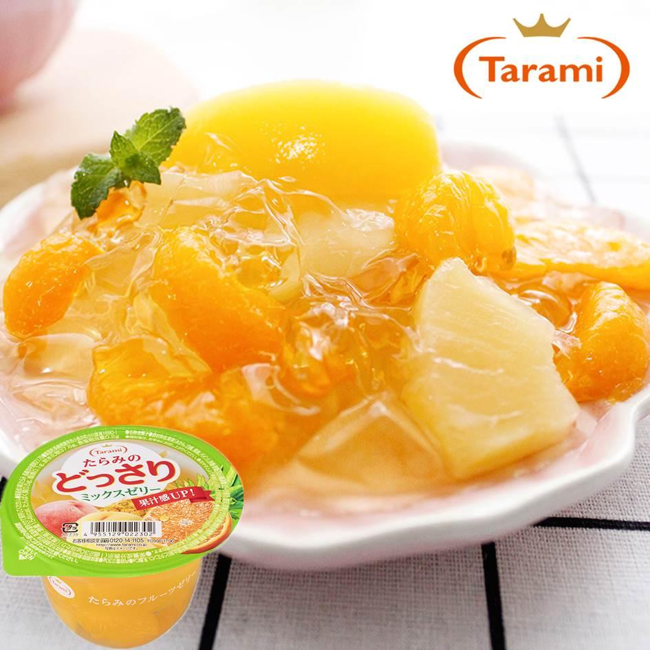 日本達美樂 tarami果實蒟蒻果凍
