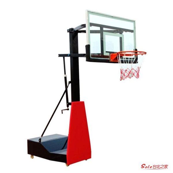行動成人家用室內兒童戶外青少年升降籃球架室外訓練器材