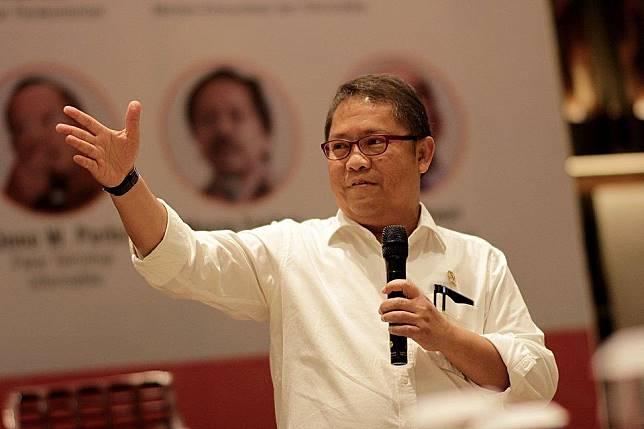Menteri Komunikasi dan Informatika (Menkominfo), Rudiantara