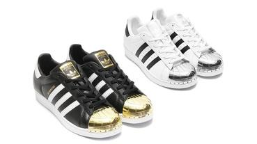 新聞分享 / 你掉的金貝殼還是銀貝殼?adidas Originals Superstar 'Metallic Toe' 亮相
