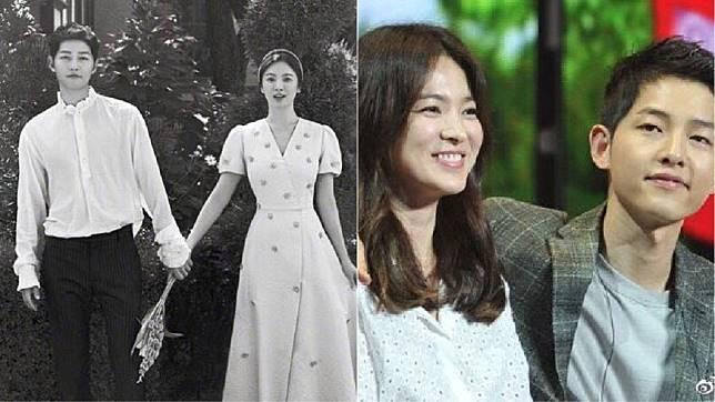 韓星宋慧喬和宋仲基今(27日)早宣布離婚。圖/翻攝自新浪娛樂微博