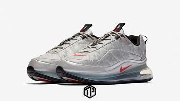 Nike Air MX 720-818 最新配色「Silver Bullet」曝光!