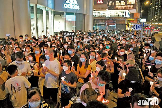64事件31周年 禁令下燭光依然