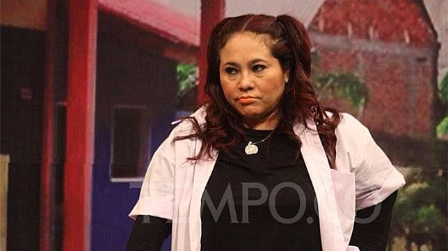 Penampilan Nunung di Opera Van Java saat acara sahur di Studio Trans, Jakarta, 19 Agustus 2018. Tertangkapnya Nunung menambah daftar pelawak yang terjerat kasus narkoba. Dok. TEMPO/Yosep Arkian