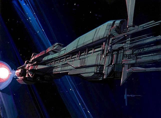 在《異形2》中出現的太空船,都是他傑作之一。(互聯網)