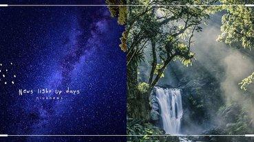 林務局4大主題「國家級美照聖地」!黃金山毛櫸林、全台最美瀑布、百萬星空全都必拍