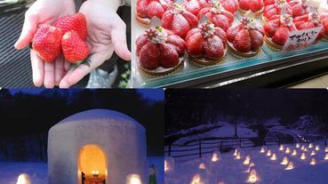 東京近郊巴士一日遊:栃木採草莓吃到飽、湯西川溫泉雪燈祭,一起感受浪漫冬日!