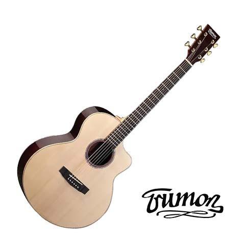 Trumon楚門吉他 41吋 J-80F J80F 單板 民謠吉他 木吉他 - 【他,在旅行】