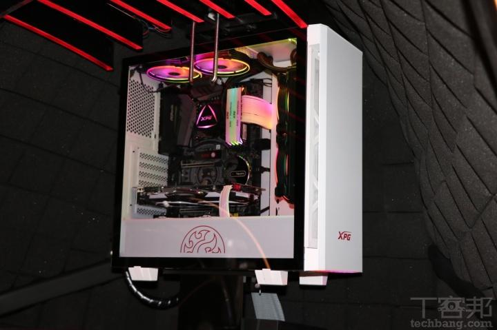 Computex 2019:威剛 XPG 大秀 ORB 電競體驗艙,首支DDR4 RGB水冷記憶體、快拆機殼與一系列周邊搶先看