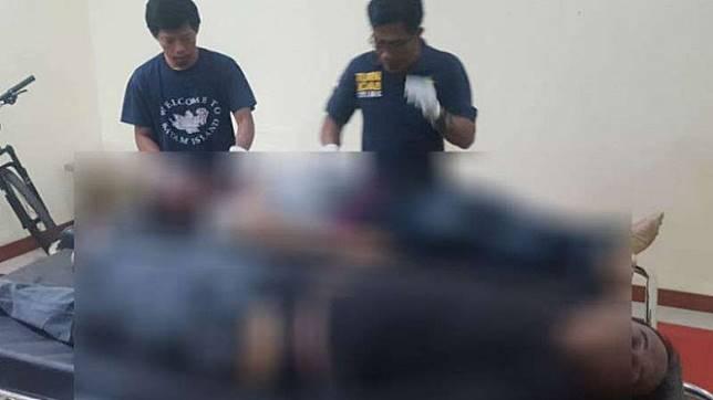 Pelaku perampokan terhadap Tenaga Ahli Kantor Staf Presiden, Armedy Dewanga.