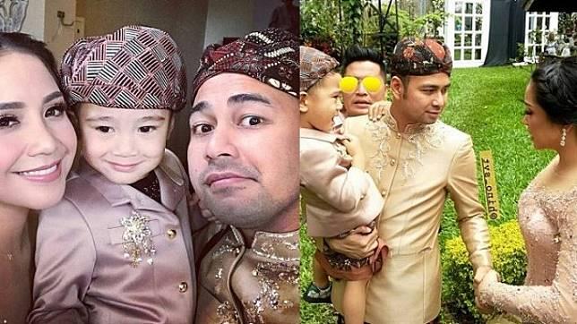 Tak Lihat Kamera sedang Merekamnya, Raffi Ahmad Lakukan Hal Ini ke Nagita Slavina di Nikahan Syahnaz