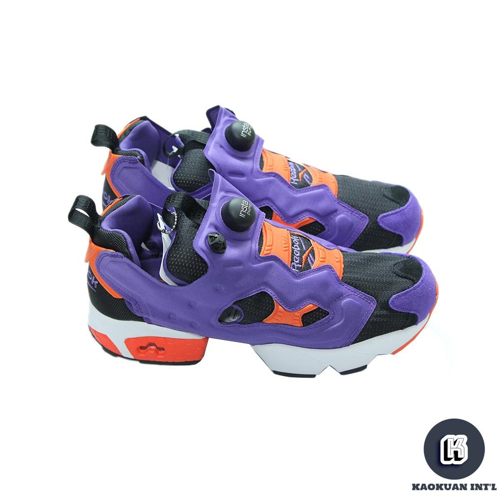 Reebok INSTA PUMP FURY OG M46894 紫 橘 充氣 慢跑鞋 男鞋 女鞋【高冠國際】