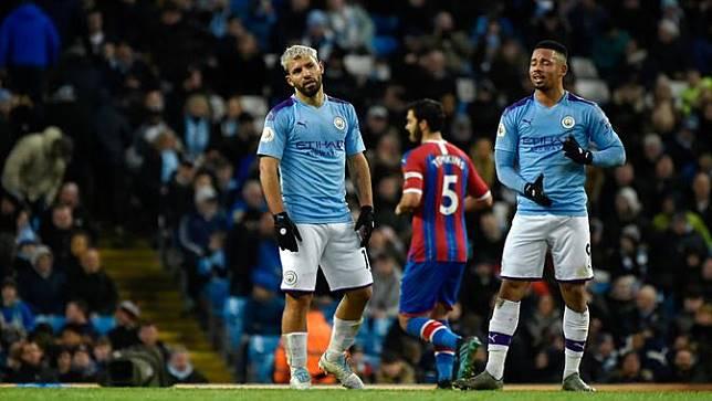 Manchester City Ditahan Crystal Palace 2-2