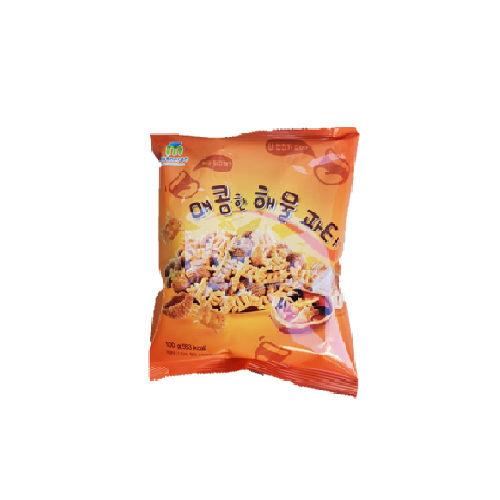 韓國MATNARAE餅乾(辣海鮮)100g