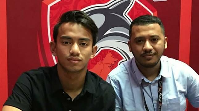 Cucu almarhum BJ. Habibie, Rafid Habibie, resmi dikontrak Borneo FC hingga akhir kompetisi Shopee Liga 1 2019 dengan opsi perpanjangan, Senin (16/6/2019). (HO/Instagram Borneo FC)