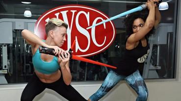 《星際大戰 Star Wars》運用光劍的全套健身訓練!成為絕地武士不是夢!