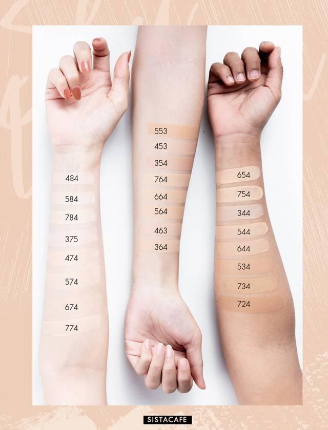 หาเฉดสีที่ใช่! กับ �shu uemura unlimited breathable lasting foundation�  รองพื้นหายใจได้ ให้สาวๆ อวดผิวสวยแบบสาวเอเชีย | SistaCafe | LINE TODAY